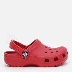 Сабо Crocs Kids Classic Clog K 204536-6EN-C11 28-29 17.4 см Красные (887350923315) от Rozetka