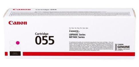 Акция на Картридж лазерный Canon 055 MF742/744/746, LBP663/664 Magenta, 2100 стр (3014C002) от MOYO