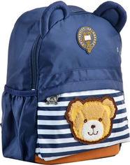 Рюкзак детский Yes j100 32x24x14.5 синий для мальчика (555714) от Rozetka