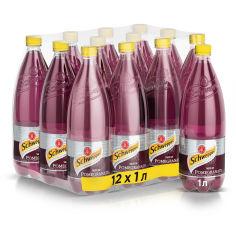 Акция на Упаковка безалкогольного напитка Schweppes Гранат 1 л х 12 бутылок (5449000226280) от Rozetka