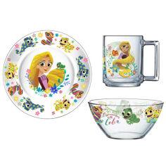 Набор посуды детский ОСЗ Disney Рапунцель 3 прибора 18с2055 ДЗ Рапунц от Podushka