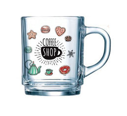 Чашка Luminarc Coffee Shop 250мл P4137 от Podushka