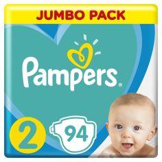 Акция на Подгузники Pampers New Baby Размер 2, 4-8 кг 94 шт 8001090948137 от Podushka