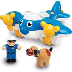 Акция на Полицейский самолет Пит Wow Toys 10309 от Podushka