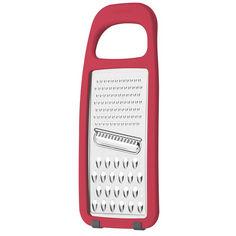 Тёрка плоская Tramontina Utilita нержавеющая сталь красная 25695/170 от Podushka