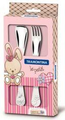 Набор детских столовых приборов Tramontina Baby Le Petit pink 66973/015 от Podushka
