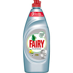Акция на Средство для мытья посуды Fairy Platinum Лимон и лайм 650мл 92356 от Podushka