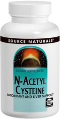 Аминокислота Source Naturals NAC (N-Ацетил-L-Цистеин) 600 мг 60 таблеток (21078008507) от Rozetka