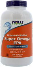 Акция на Жирные кислоты Now Foods Super Omega EPA 1200 мг 240 капсул (733739016836) от Rozetka