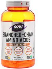 Комплекс аминокислот Now Foods с разветвлёнными цепями 240 капсул (733739000545) от Rozetka