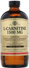 Акция на Аминокислота Solgar L-Карнитин 1500 мг 473 мл Лимон (033984307216) от Rozetka