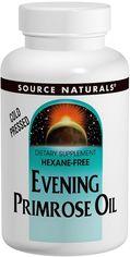 Жирные кислоты Source Naturals Evening Primose Oil Масло Примулы вечерней 1350 мг 60 желатиновых капсул (21078000754) от Rozetka