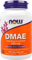 Аминокислота Now Foods DMAE (диметиламиноэтанол) 250 мг 100 гелевых капсул (733739030900) от Rozetka