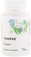 Аминокислота Thorne Research L-Лизин 60 капсул (693749516026) от Rozetka