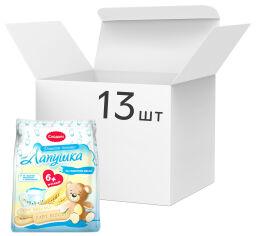 Упаковка детского растворимого печенья Слодыч Лапушка на сливочном масле 180 г х 13 шт (4810064020021) от Rozetka