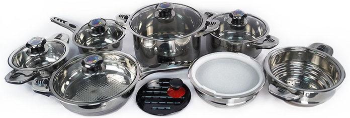 Набор посуды Supretto из 16 предметов (4957) от Rozetka
