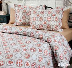 Акция на Комплект постельного белья Lotus Premium Ранфорс Daisy 200х220 (svk-4052) от Rozetka