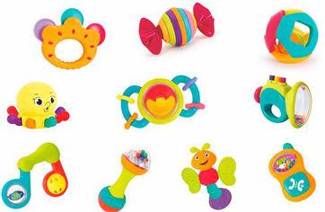 Набор погремушек Hola Toys 10 шт (939) (6944167193967) от Rozetka
