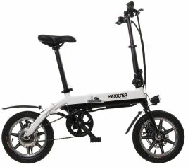 Акция на Электровелосипед Maxxter MINI Black/White от Територія твоєї техніки