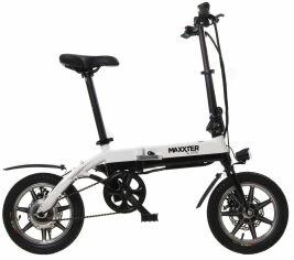 Акция на Електровелосипед Maxxter MINI Black/White от Територія твоєї техніки