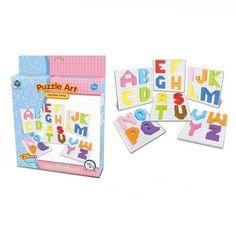 Акция на Пазл Same Toy Puzzle Art Alphabet series 126 элементов (5990-3Ut) от MOYO