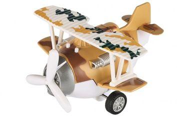 Акция на Самолет металический инерционный Same Toy Aircraft коричневый со светом и музыкой (SY8015Ut-3) от MOYO