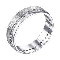 Обручальное серебряное кольцо с фианитами 000133407 000133407 20 размера от Zlato