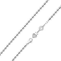 Серебряный браслет с фианитами 000123712 000123712 16.5 размера от Zlato
