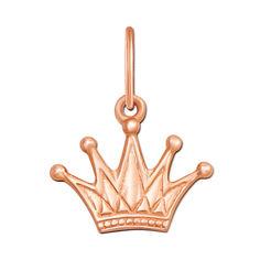 Акция на Кулон-корона из красного золота 000000266 000000266 от Zlato