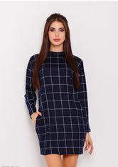 Платья ISSA PLUS 7586  L темно-синий от Issaplus