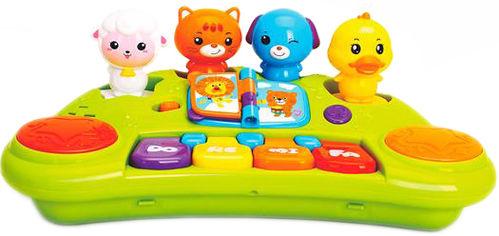 Игрушка Hola Toys Пианино со зверушками (2103A) (6944167180714) от Rozetka