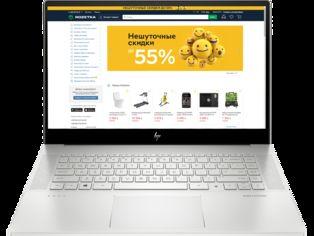 Ноутбук HP Envy Laptop 15-ep0004ur (1U9H9EA) Silver от Rozetka
