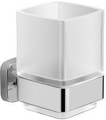 Стакан для ванной VOLLE Teo 15-88-411 матовое стекло/хром от Rozetka