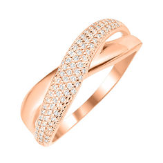 Золотое кольцо с цирконием 000044628 000044628 16.5 размера от Zlato
