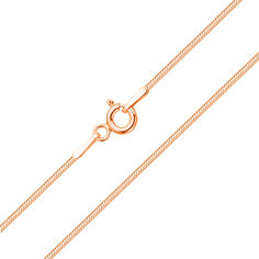 Цепочка из красного золота в плетении снейк 000101556 000101556 50 размера от Zlato