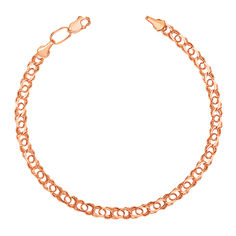 Золотой браслет Арабка плетения бисмарк 000101636 20 размера от Zlato