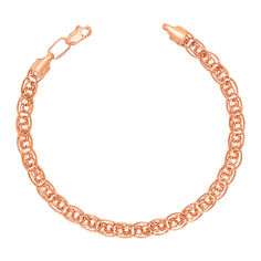 Золотой браслет в красном цвете 000103611 000103611 19 размера от Zlato