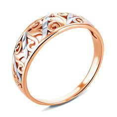 Золотое кольцо Феридэ с алмазной гранью 000104589 18 размера от Zlato