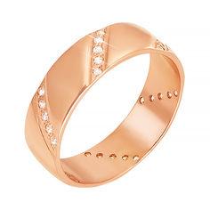 Акция на Обручальное кольцо из красного золота 000006401 000006401 18 размера от Zlato