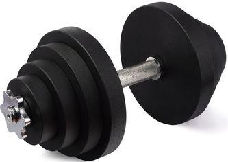 Акция на Гантель наборная стальная Champion 23.5 кг (CHM00394) от Rozetka