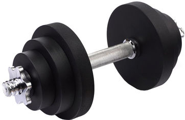 Акция на Гантель наборная стальная Champion 13.5 кг (CHM00391) от Rozetka