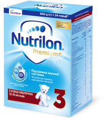Акция на Молочная сухая смесь Nutrilon Premium+ 3 600 г (5900852047176) от Rozetka