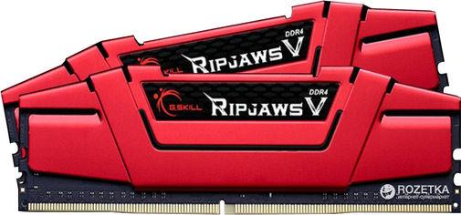 Акция на Оперативная память G.Skill DDR4-3000 32768MB PC4-24000 (Kit of 2x16384) Ripjaws V (F4-3000C15D-32GVR) от Rozetka