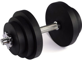 Гантель наборная стальная Champion 21 кг (A00393) от Rozetka