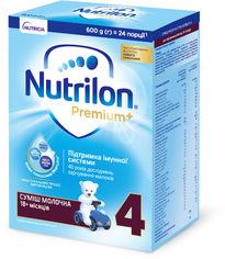 Молочная сухая смесь Nutrilon Premium+ 4 600 г (5900852047190) от Rozetka