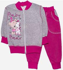 Спортивный костюм Малыш Style Мишка ЯКП-26 52 р 80-86 см Малиновый (ROZ6400011786) от Rozetka