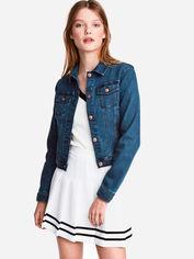 Джинсовая куртка H&M Divided XAZ069283VYOK 42 Темно-синяя (DD2000001374412) от Rozetka