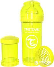 Антиколиковая бутылочка Twistshake 260 мл Желтая (7350083120403) от Rozetka