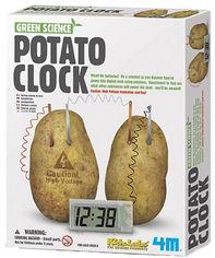 Набор для творчества 4M Картофельные часы (00-03275) (4893156032751) от Rozetka
