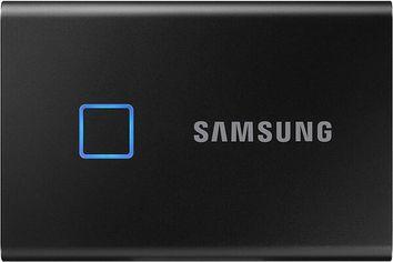 Акция на SSDнакопительSAMSUNGUSB3.2T7 Touch500GB Black (MU-PC500K/WW) от MOYO